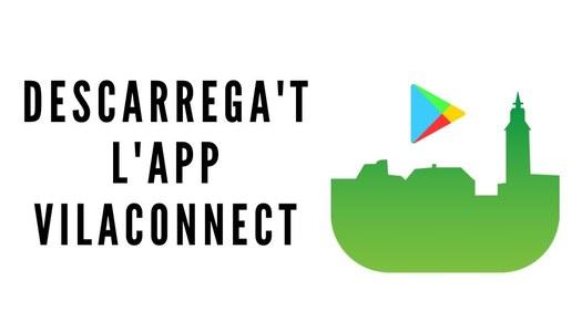 Descarrega't l'aplicació mòbil VILACONNECT per rebre tota la informació de Sanaüja