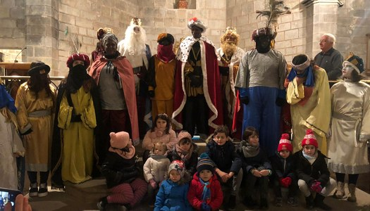 Els Reis Mags visiten Sanaüja