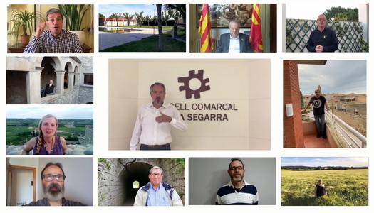 """L'ajuntament dels Sanaüja participa en la campanya """"Tornarem"""""""