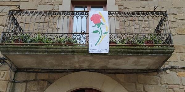 L'ajuntament us desitja una bona diada de Sant Jordi