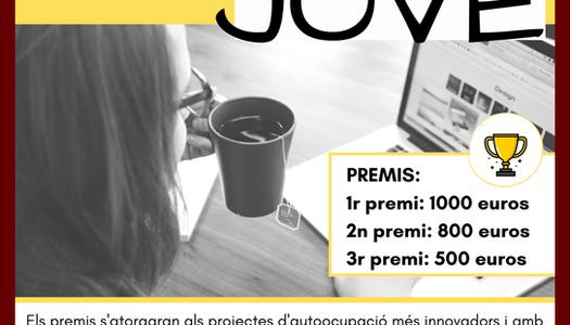 Publicades les bases per participar a la 18a edició del Premi Emprenedoria Jove que organitza l'Oficina Jove del Consell Comarcal de la Segarra.