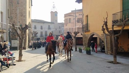 Sanaüja celebra la festa de Sant Antoni