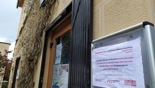 """Sanaüja s'uneix a la iniciativa """"Establiment segur contra la violència masclista"""" de l'Institut Català de les Dones i Mossos d'Esquadra"""